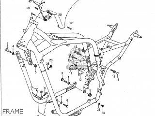 Suzuki VS700GLP INTRUDER 1991 (M) USA (E03) parts lists