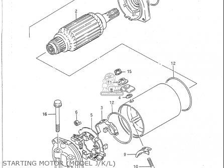 Suzuki Vs750 Glp 1988-1991 (usa) parts list partsmanual