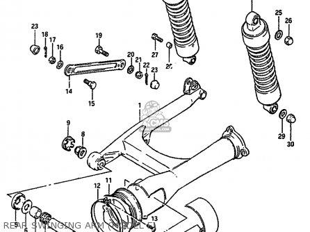 Suzuki Vs750gl 1985 (f) (e02) parts list partsmanual