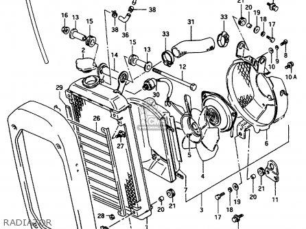 Suzuki Vs800 1996 (glt) parts list partsmanual partsfiche