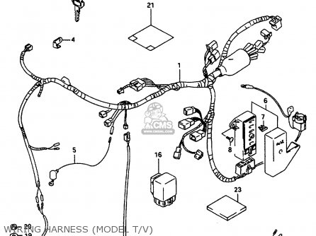 Suzuki Vs800 1997 (glv) parts list partsmanual partsfiche