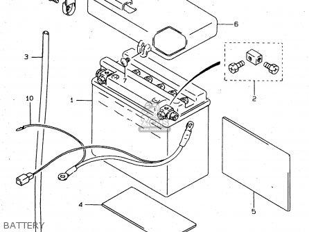 Suzuki Vs800 1999 (glx) parts list partsmanual partsfiche