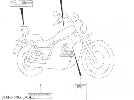 Suzuki Vs800 Gl Intruder 2001-2004, S50 2005 (usa) parts