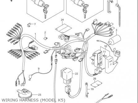 1986 Suzuki Intruder 1400 Wiring Diagram, 1986, Free