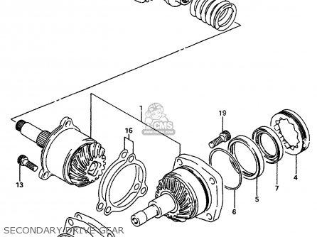Suzuki VS800GL 1992 (N) (E01 E02 E04 E16 E17 E18 E21 E22
