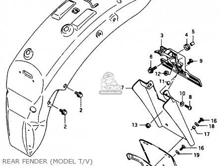 Suzuki VS800GL 1997 (V) (E02 E04 E17 E18 E22 E25 E34
