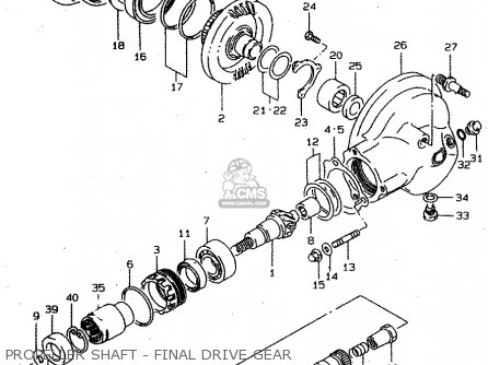 Suzuki VS800GL 1998 (W) (E02 E04 E17 E18 E22 E25 E34