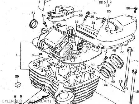 Suzuki VS800GL 2000 (Y) (E02 E04 E17 E18 E22 E25 E34