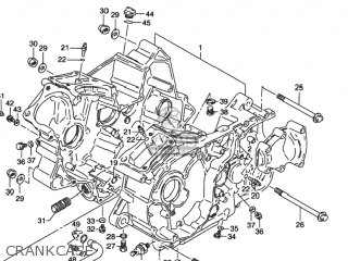 Suzuki VS800GL INTRUDER 1992 (N) USA (E03) parts lists and