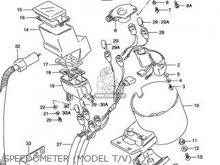 Suzuki VS800GL INTRUDER 1993 (P) USA (E03) parts lists and