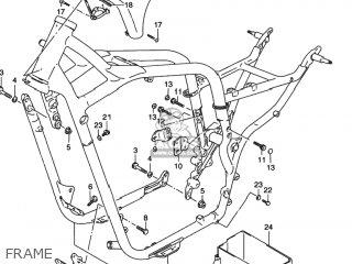 Suzuki Vs800gl Intruder 1996 (t) Usa (e03) parts list