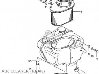 Suzuki Vs800gl Intruder 1998 (w) Usa (e03) parts list