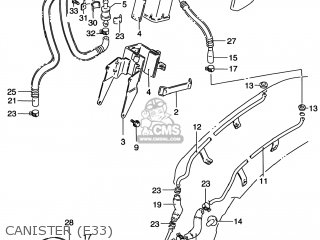 Suzuki Vs800gl Intruder 1999 (x) Usa (e03) parts list