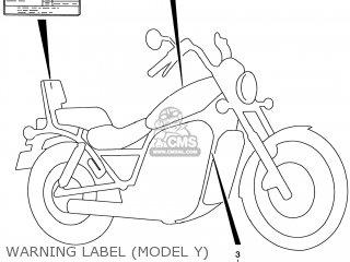 Suzuki VS800GL INTRUDER 1999 (X) USA (E03) parts lists and