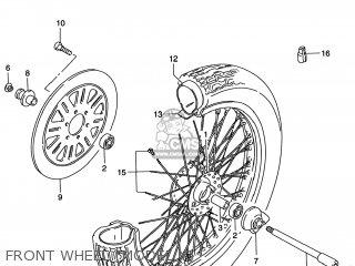 Suzuki VS800GL INTRUDER 2000 (Y) USA (E03) parts lists and