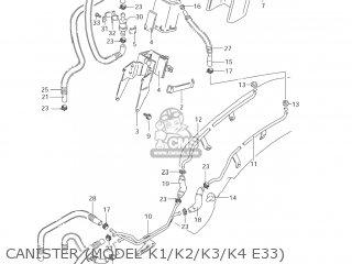 Suzuki Vs800gl Intruder 2001 (k1) Usa (e03) parts list
