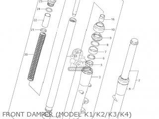 Suzuki VS800GL INTRUDER 2001 (K1) USA (E03) parts lists