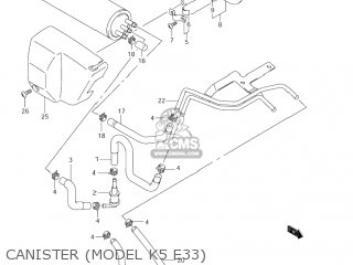 Suzuki VS800GL INTRUDER 2003 (K3) USA (E03) parts lists