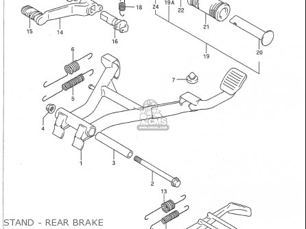 Suzuki Vx800 1990-1993 (usa) parts list partsmanual partsfiche