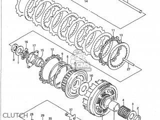 Suzuki Vx800 1990 (l) Usa (e03) parts list partsmanual