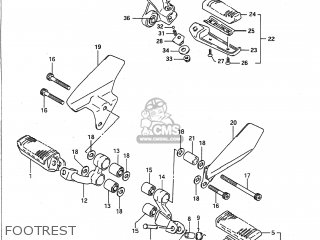 Suzuki Vx800 1990 (l) Usa (e03) parts list partsmanual