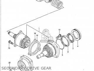 Suzuki VX800 1990 (L) USA (E03) parts lists and schematics