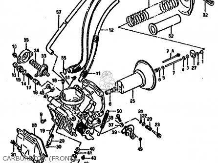 Suzuki Vx800 1990 (ul) parts list partsmanual partsfiche