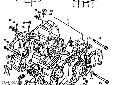 Suzuki Vx800 1990 (ul) parts list partsmanual partsfiche