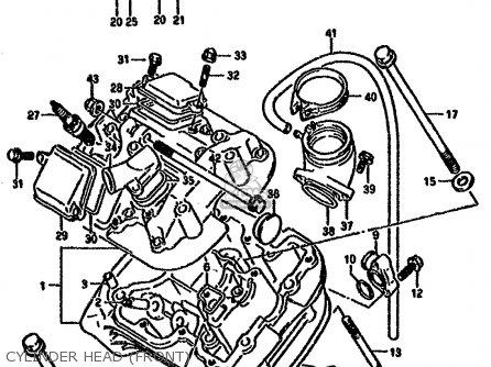 Suzuki VX800 1992 (N) (E01 E02 E04 E15 E16 E17 E18 E21 E22