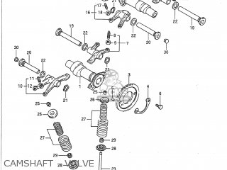 Suzuki VX800 1992 (N) USA (E03) parts lists and schematics