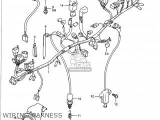 Suzuki VX800 1992 (N) USA (E03) parts lists and schematics