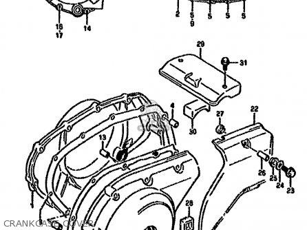 Suzuki Vx800 1993 (p) parts list partsmanual partsfiche