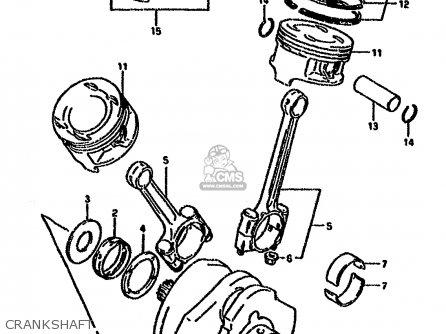 Suzuki Vx800 1996 (t) (e04 E18 E21 E22 E25) parts list