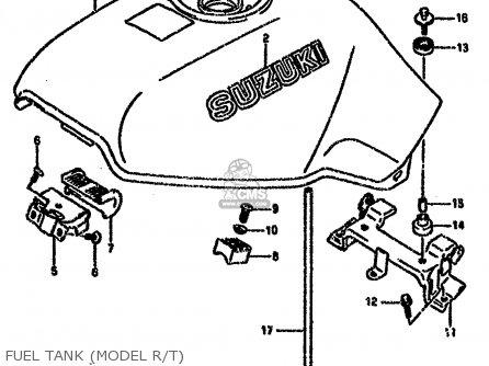 Suzuki Vx800 1996 (t) (e04 E18 E21 E22 E25) parts list
