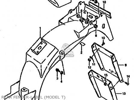 Suzuki VX800U 1992 (N) (E22) parts lists and schematics