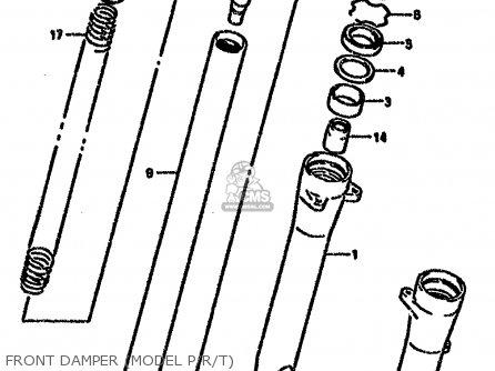 Suzuki VX800U 1993 (P) (E22) parts lists and schematics
