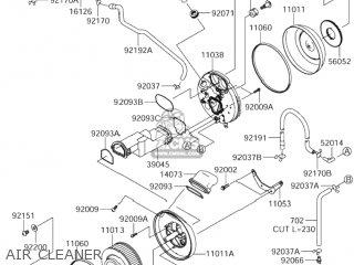 Suzuki VZ1600 BOULEVARD M95 2005 (K5) USA (E03) parts