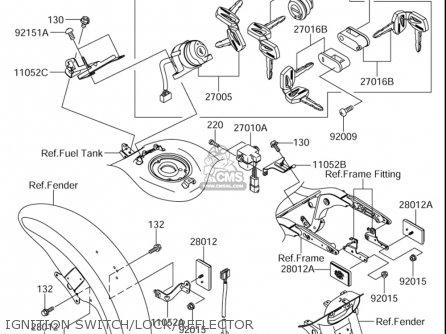 Suzuki Vz1600 Marauder 2004 E3; M95 2005 E3 (usa) parts