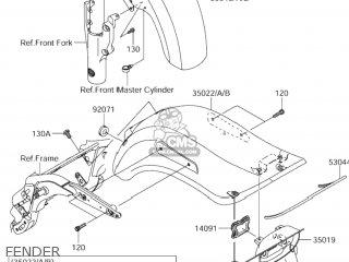 Suzuki Vz1600 Marauder 2004 (k4) Usa (e03) parts list