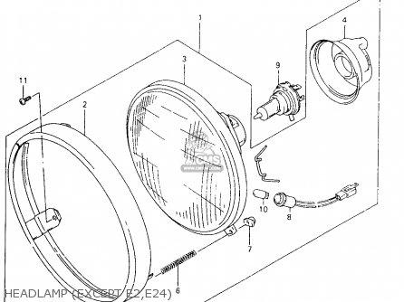 2001 Suzuki Vz800 Wiring Diagram