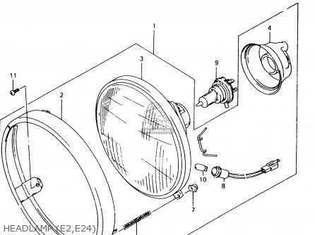 Suzuki Vz800 2000 (y) parts list partsmanual partsfiche
