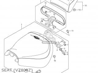 Suzuki VZ800 BOULEVARD M50 2005 (K5) USA (E03