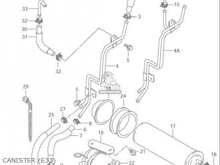 Suzuki Vz800 Marauder 1997-2003 (usa) parts list