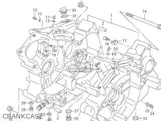 Suzuki VZ800 MARAUDER 1997 (V) USA (E03) parts lists and