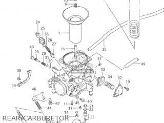 Suzuki Vz800 Marauder 1997 (v) Usa (e03) parts list