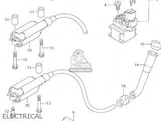 Suzuki VZ800 MARAUDER 1998 (W) USA (E03) parts lists and