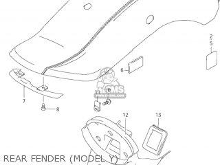 Suzuki VZ800 MARAUDER 1999 (X) USA (E03) parts lists and