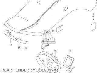 Suzuki VZ800 MARAUDER 2001 (K1) USA (E03) parts lists and