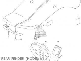 Suzuki VZ800 MARAUDER 2002 (K2) USA (E03) parts lists and
