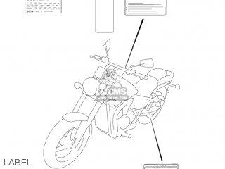 Suzuki Vz800 Marauder 2004 (k4) Usa (e03) parts list